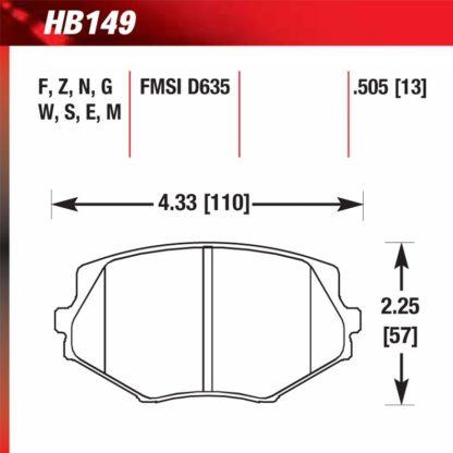 Hawk HB149.505