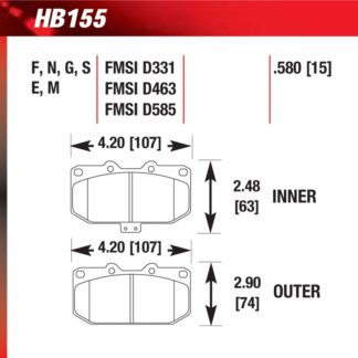 Hawk HB155.580