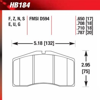 Hawk HB184.650
