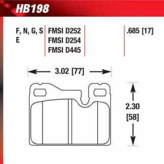 Hawk HB198.685