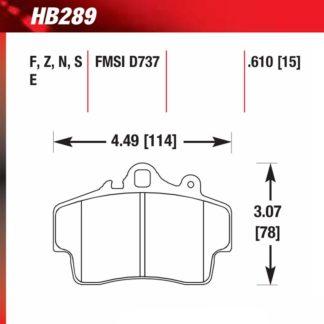 Hawk HB289.610