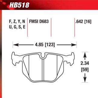 Hawk HB518.642