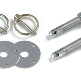 Longacre Steel Hood Pin Kit