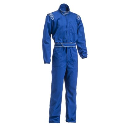 Sparco MX3 Mechanics Coveralls Blue
