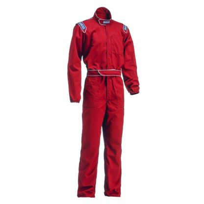 Sparco MX3 Mechanics Coveralls Red