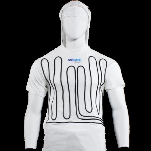 CoolShirt White Hoodie Water Shirt